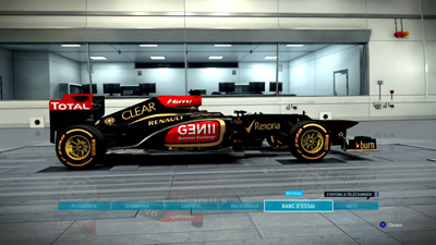 F1 2013 Menu - Screenshot PC